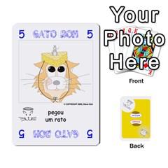 Gato Bom Gato Mau By Alan Romaniuc   Playing Cards 54 Designs   Romh4c1ygh4o   Www Artscow Com Front - Spade9