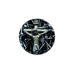 Jesus On Cross Christian Fathers Love Golf Ball Marker (10 pack) by WordArtGift
