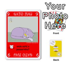 Jack Gato Bom Gato Mau By Alan Romaniuc   Playing Cards 54 Designs   0qr64pa1fo9k   Www Artscow Com Front - DiamondJ