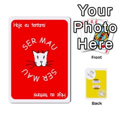 Gato Bom Gato Mau By Alan Romaniuc   Playing Cards 54 Designs   0qr64pa1fo9k   Www Artscow Com Front - Joker1