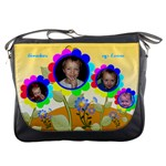 Garden of Love messenger bag