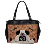 doggie office bag 3 - Oversize Office Handbag (One Side)