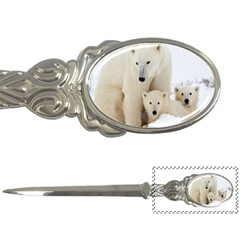 Family Love Polar Bear Letter Opener by WordArtGift