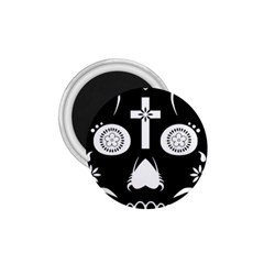 Sugar Skull 1 75  Button Magnet by asyrum