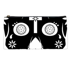 Sugar Skull Pencil Case by asyrum