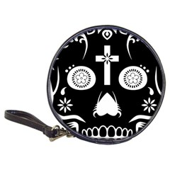 Sugar Skull Cd Wallet by asyrum