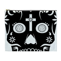Sugar Skull Cosmetic Bag (xl)