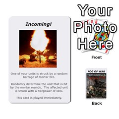 Fog Of War Cards  Tomorrow s War 1 By Fred   Playing Cards 54 Designs   Mpqsuqjtv5xk   Www Artscow Com Front - Heart4