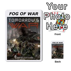 Fog Of War Cards  Tomorrow s War 2 By Fred   Playing Cards 54 Designs   L8pmens6p9nc   Www Artscow Com Back