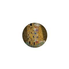 Klimt   The Kiss 1  Mini Button Magnet by ArtMuseum