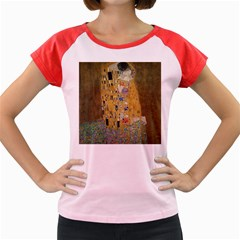 Klimt   The Kiss Women s Cap Sleeve T Shirt (colored) by ArtMuseum