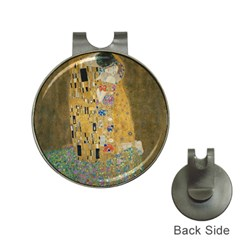 Klimt   The Kiss Hat Clip With Golf Ball Marker by ArtMuseum
