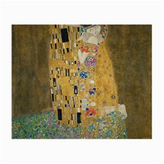 Klimt   The Kiss Glasses Cloth (small) by ArtMuseum