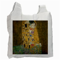 Klimt   The Kiss Recycle Bag (two Sides)