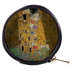 Klimt   The Kiss Mini Makeup Case by ArtMuseum