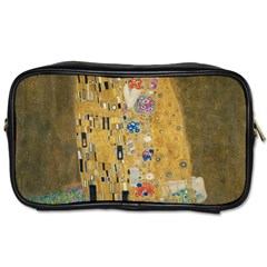 Klimt   The Kiss Travel Toiletry Bag (two Sides) by ArtMuseum
