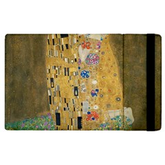 Klimt   The Kiss Apple Ipad 3/4 Flip Case by ArtMuseum
