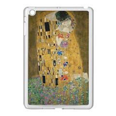 Klimt   The Kiss Apple Ipad Mini Case (white) by ArtMuseum
