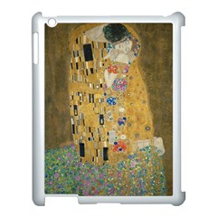 Klimt   The Kiss Apple Ipad 3/4 Case (white) by ArtMuseum