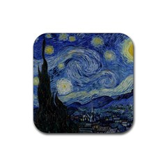 Starry Night Drink Coaster (square) by ArtMuseum