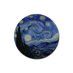 Starry Night Drink Coasters 4 Pack (round) by ArtMuseum