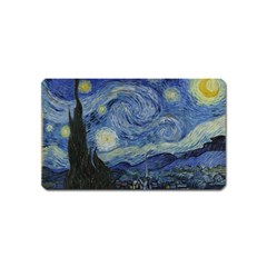 Starry Night Magnet (name Card) by ArtMuseum