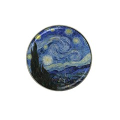 Starry Night Golf Ball Marker 10 Pack (for Hat Clip) by ArtMuseum