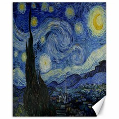 Starry Night Canvas 16  X 20  (unframed) by ArtMuseum