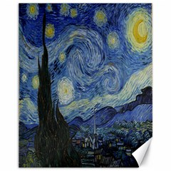 Starry Night Canvas 11  X 14  9 (unframed) by ArtMuseum