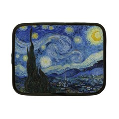 Starry Night Netbook Case (small) by ArtMuseum