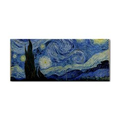 Starry Night Hand Towel by ArtMuseum