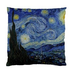 Starry Night Cushion Case (one Side)