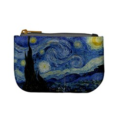Starry Night Coin Change Purse by ArtMuseum