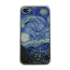 Starry Night Apple Iphone 4 Case (clear) by ArtMuseum