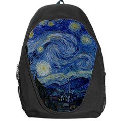 Starry Night Backpack Bag by ArtMuseum