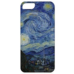 Starry Night Apple Iphone 5 Classic Hardshell Case by ArtMuseum