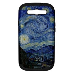 Starry Night Samsung Galaxy S Iii Hardshell Case (pc+silicone) by ArtMuseum