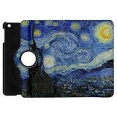Starry Night Apple Ipad Mini Flip 360 Case by ArtMuseum