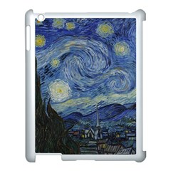 Starry Night Apple Ipad 3/4 Case (white) by ArtMuseum
