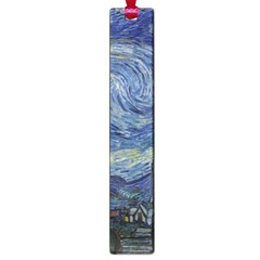 Starry Night Large Bookmark by ArtMuseum