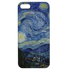 Starry Night Apple Iphone 5 Hardshell Case With Stand by ArtMuseum