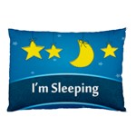 i m sleeping - Pillow Case (Two Sides)