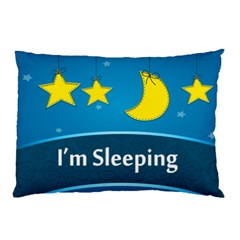 I m Sleeping By Divad Brown   Pillow Case (two Sides)   M284bnuwxjto   Www Artscow Com Back