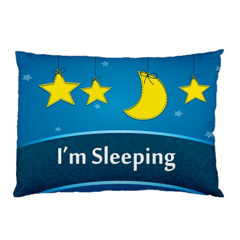 I m Sleeping By Divad Brown   Pillow Case   H1x3gdtym1bp   Www Artscow Com 26.62 x18.9 Pillow Case