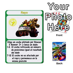 Ace Mario Kart Racing Reedit Huan Solo Y Yun By Roger Orellana   Playing Cards 54 Designs   Qm9tq01aki19   Www Artscow Com Front - SpadeA