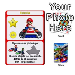 Mario Kart Racing Reedit Huan Solo Y Yun By Roger Orellana   Playing Cards 54 Designs   Qm9tq01aki19   Www Artscow Com Front - Heart10
