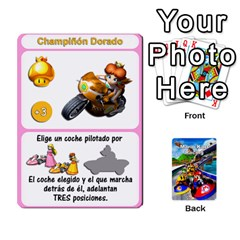 Mario Kart Racing Reedit Huan Solo Y Yun By Roger Orellana   Playing Cards 54 Designs   Qm9tq01aki19   Www Artscow Com Front - Diamond5