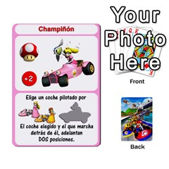 Mario Kart Racing Reedit Huan Solo Y Yun By Roger Orellana   Playing Cards 54 Designs   Qm9tq01aki19   Www Artscow Com Front - Diamond7