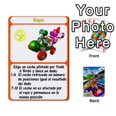King Mario Kart Racing Reedit Huan Solo Y Yun By Roger Orellana   Playing Cards 54 Designs   Qm9tq01aki19   Www Artscow Com Front - DiamondK