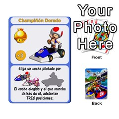 Mario Kart Racing Reedit Huan Solo Y Yun By Roger Orellana   Playing Cards 54 Designs   Qm9tq01aki19   Www Artscow Com Front - Club7